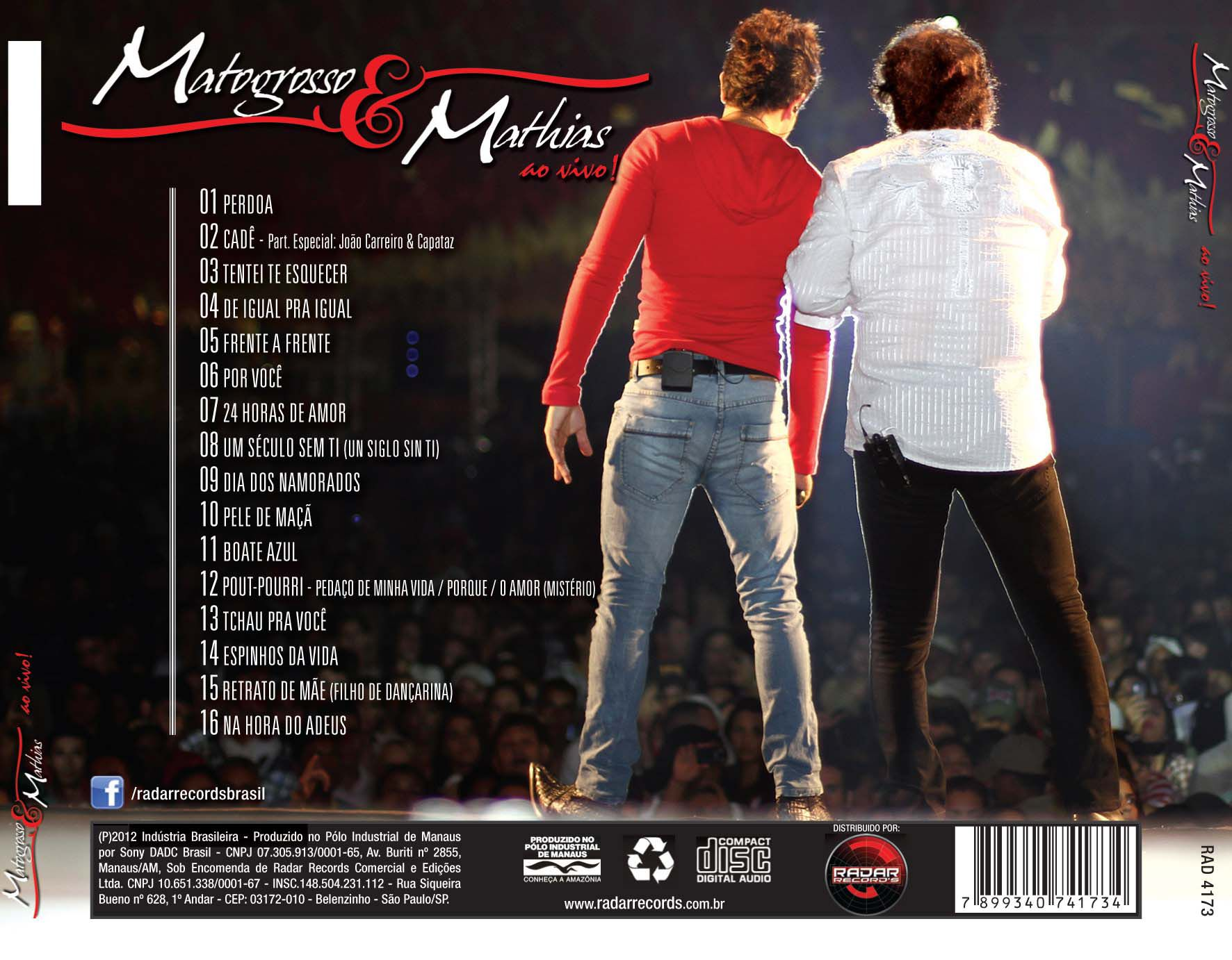 CD Matogrosso & Mathias - Ao Vivo