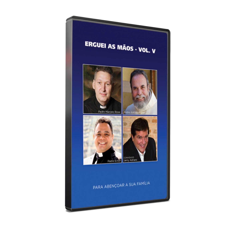 DVD ERGUEI AS MÃOS - VOLUME V