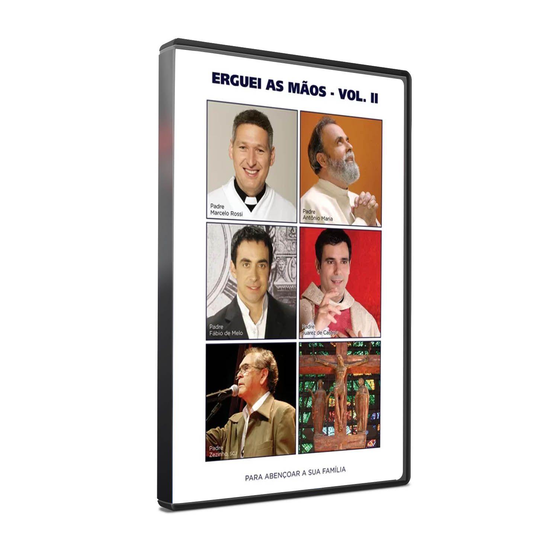 DVD ERGUEI AS MÃOS - VOLUME II