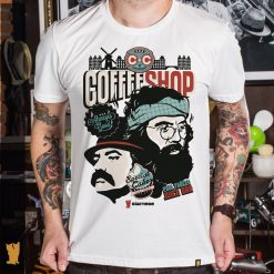 CAMISETA CHEECH E CHONG COFFEE SHOP