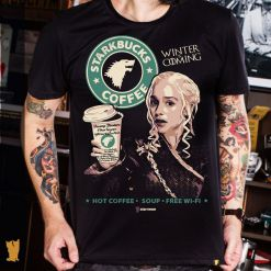 CAMISETA GAME OF THRONES STARKBUCKS
