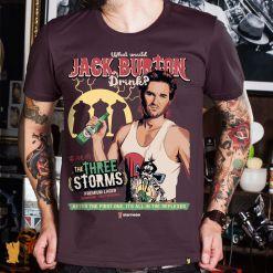 CAMISETA JACK BURTON THE THREE STORMS - VINHO