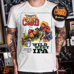 CAMISETA JUAN CALOTO - WILD WEST IPA