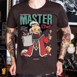 CAMISETA MESTRE DOS MAGOS MASTER CHEF - MARROM