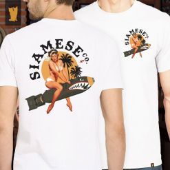 CAMISETA SIAMESE BOMB - OFF WHITE