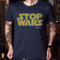 CAMISETA STOP WARS