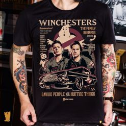 CAMISETA SUPERNATURAL THE WINCHESTERS