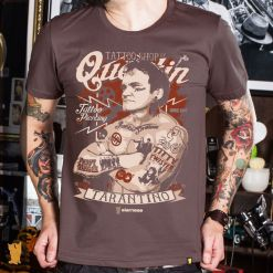 CAMISETA TARANTINO TATTOO SHOP