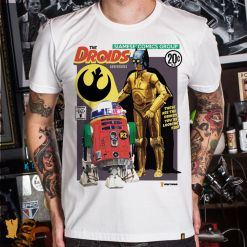 CAMISETA THE DROIDS ADVENTURES