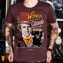 CAMISETA WONKA CHOCOLATE STOUT