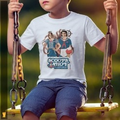 SIAMESE KIDS - SCOOPS AHOY STRANGER THINGS - OFF WHITE