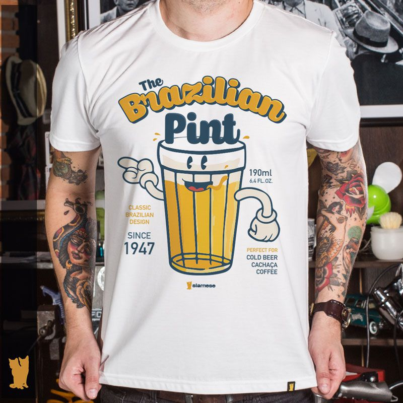 CAMISETA BRAZILIAN PINT