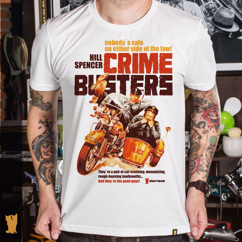 CAMISETA CRIME BUSTERS
