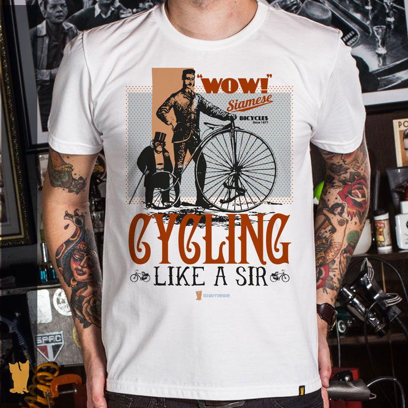 CAMISETA CYCLING LIKE A SIR