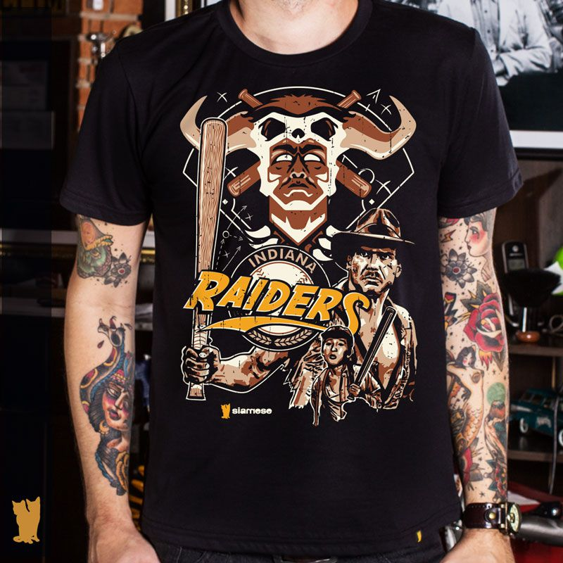 CAMISETA INDIANA RAIDERS
