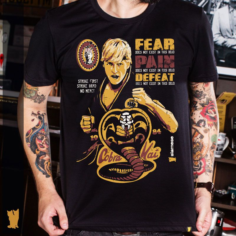 CAMISETA KARATE KID COBRA KAI