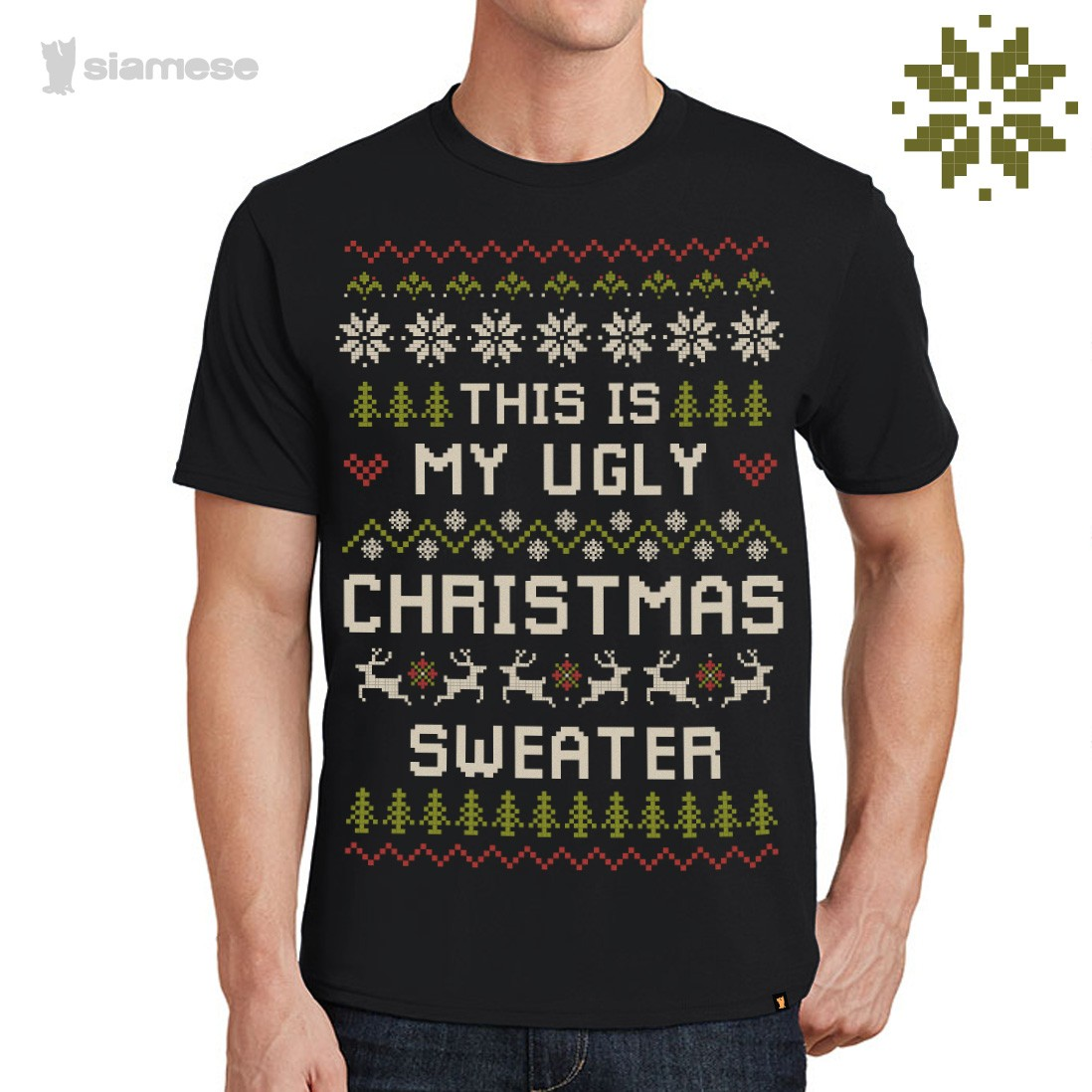 CAMISETA NATAL SIAMESE - MY UGLY CHRISTMAS SWEATER