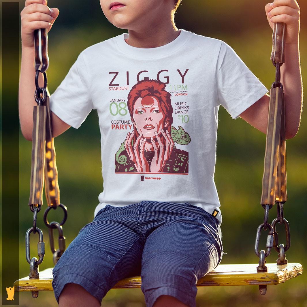 SIAMESE KIDS - BOWIE ZIGGY STARDUST - OFF WHITE