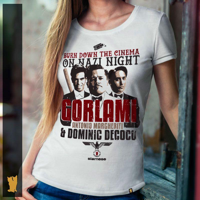 FEMININA - BASTARDOS INGLÓRIOS GORLAMI