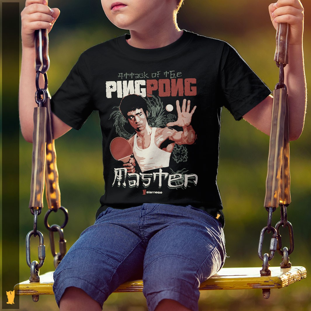SIAMESE KIDS - BRUCE LEE PING PONG MASTER