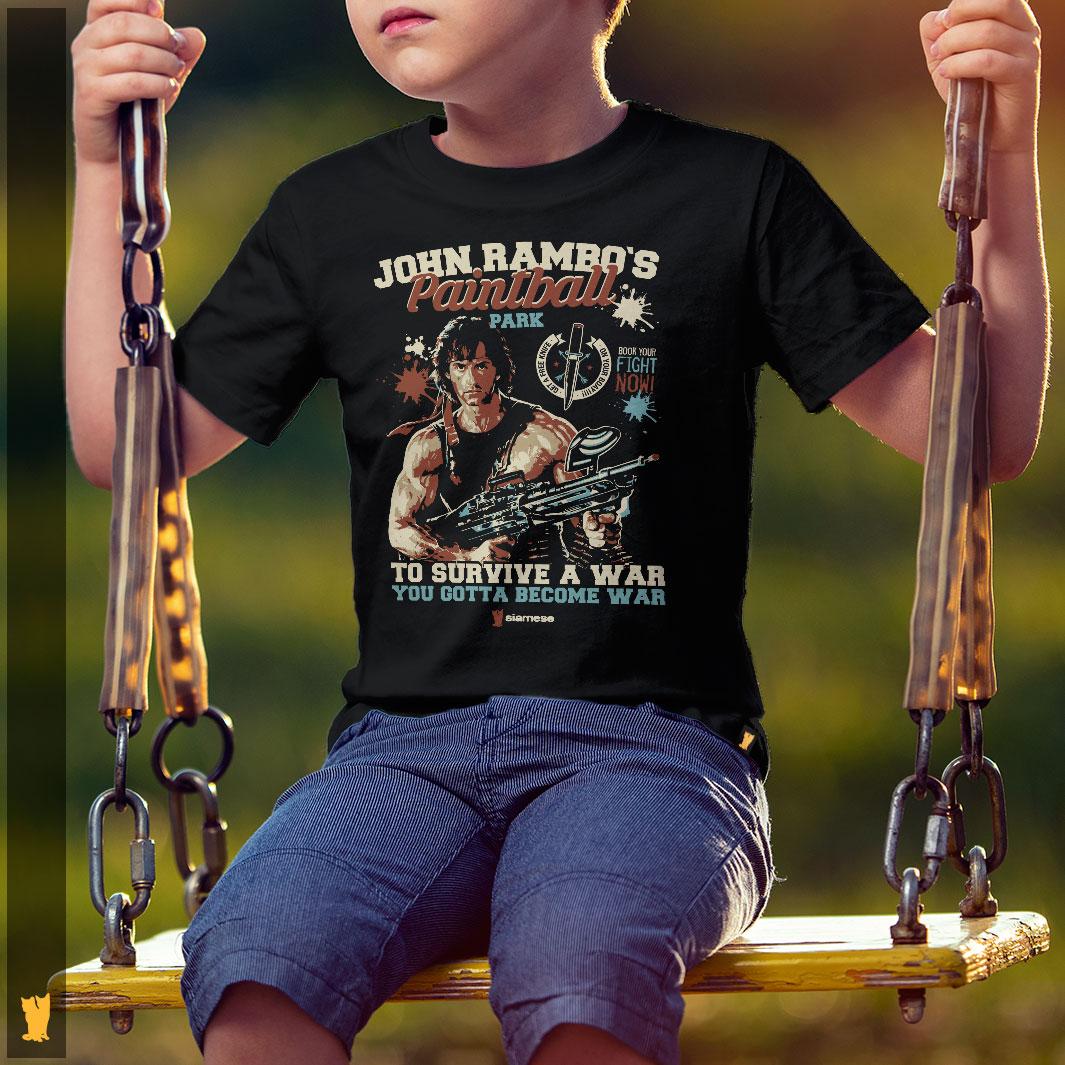 SIAMESE KIDS - RAMBO PAINTBALL PARK