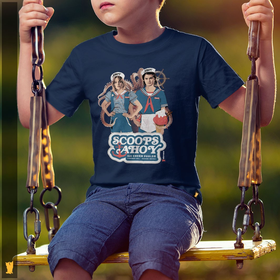 SIAMESE KIDS - SCOOPS AHOY STRANGER THINGS - MARINHO