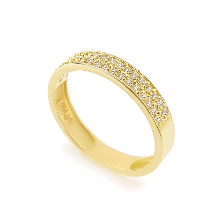 Anel Aparador Ouro 18k com 26,5 pontos em Diamantes  - YVES