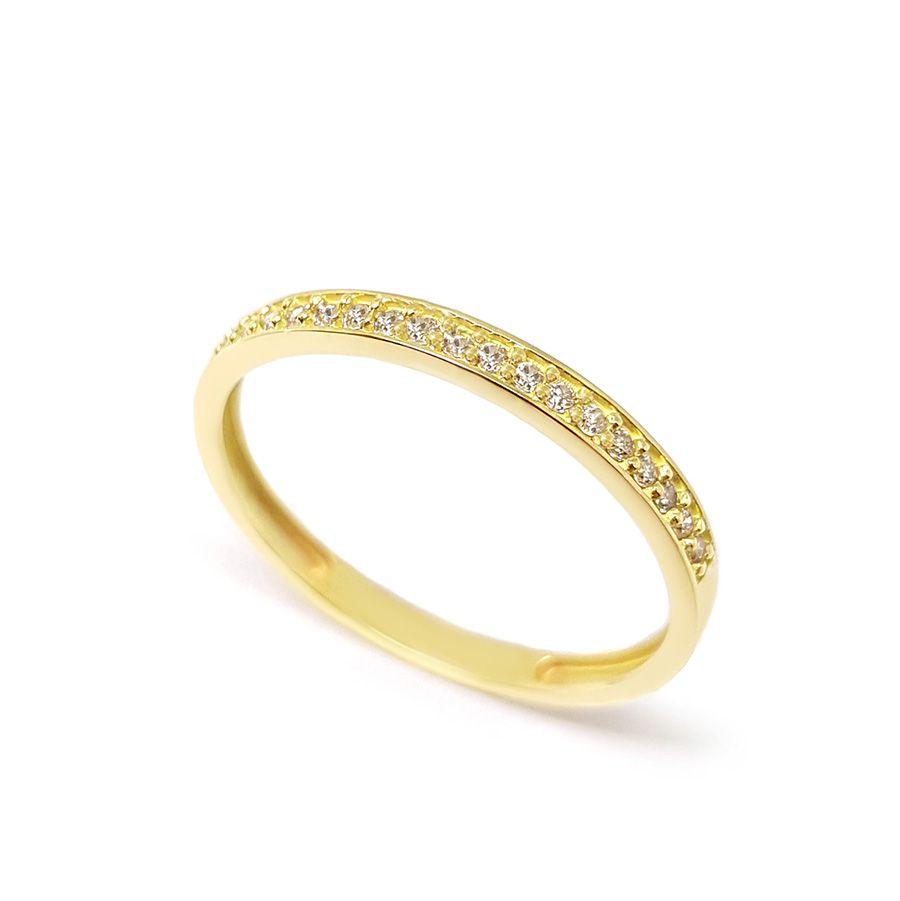 Anel Aparador Ouro 18k com 12,6 pontos em Diamantes