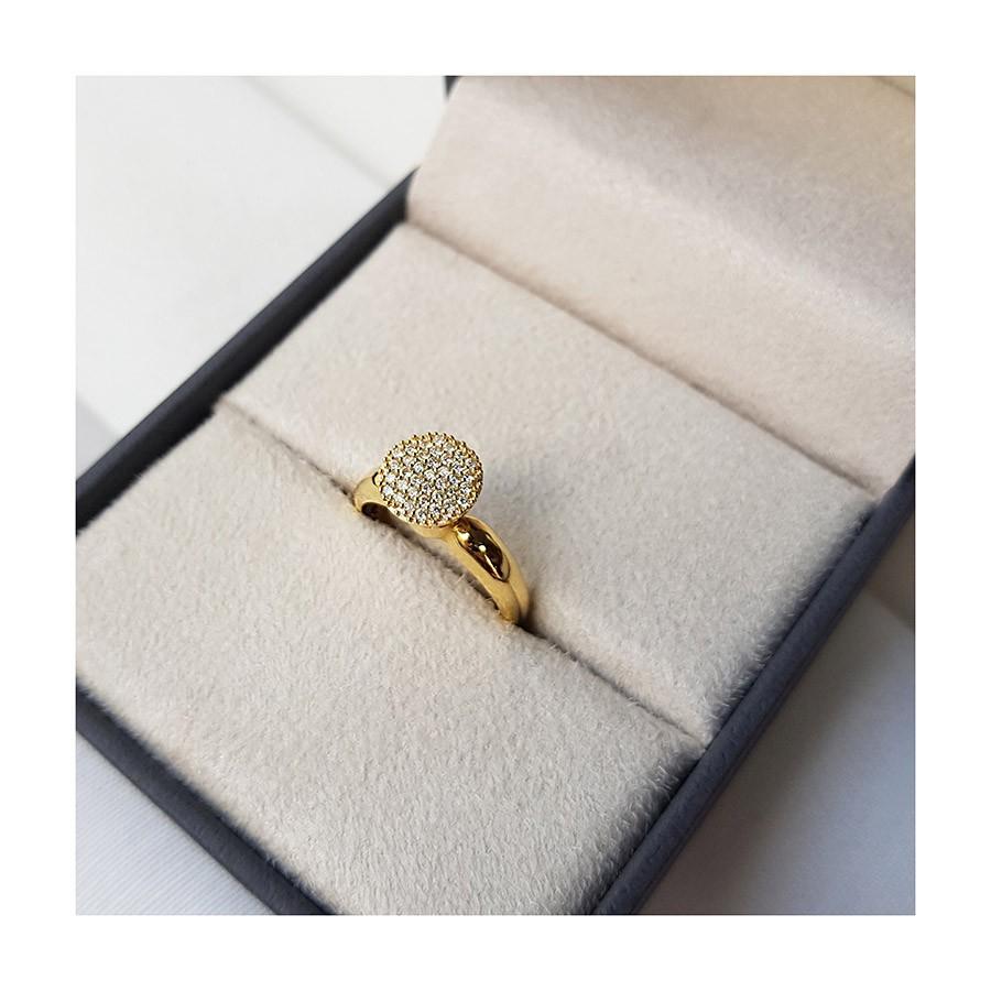 Anel Chuveiro Ouro 18k com 37 Diamantes   - YVES