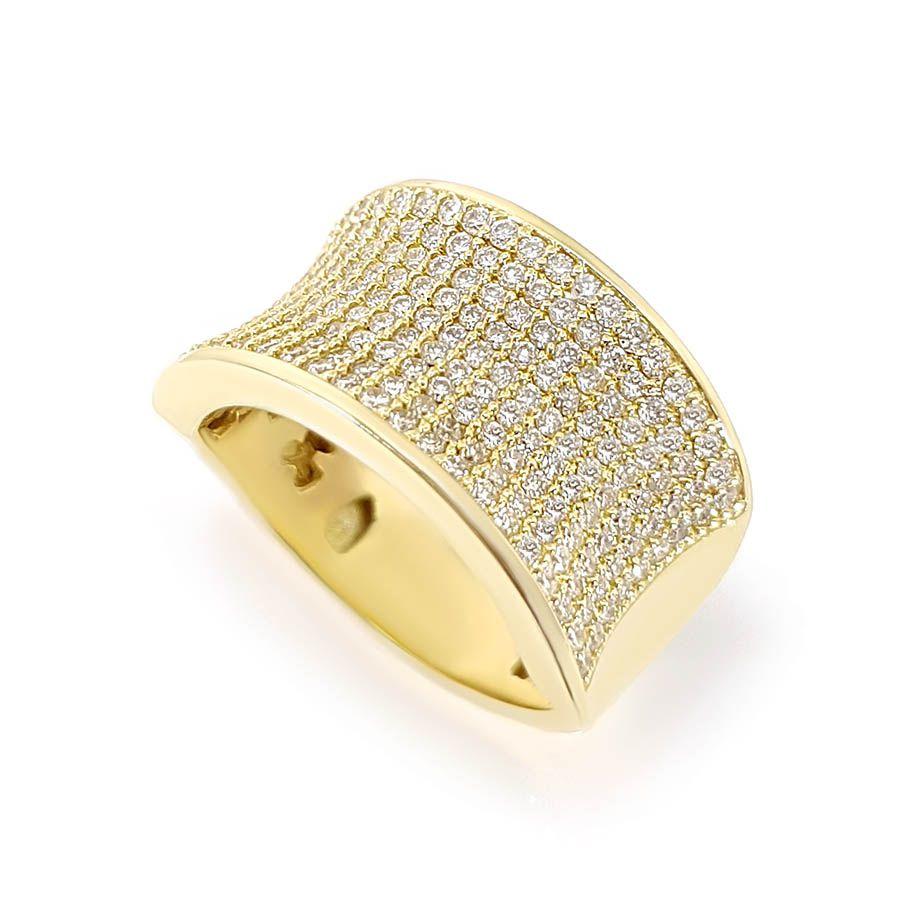 Anel Ouro 18k com 1,53 quilates em Diamantes  - YVES