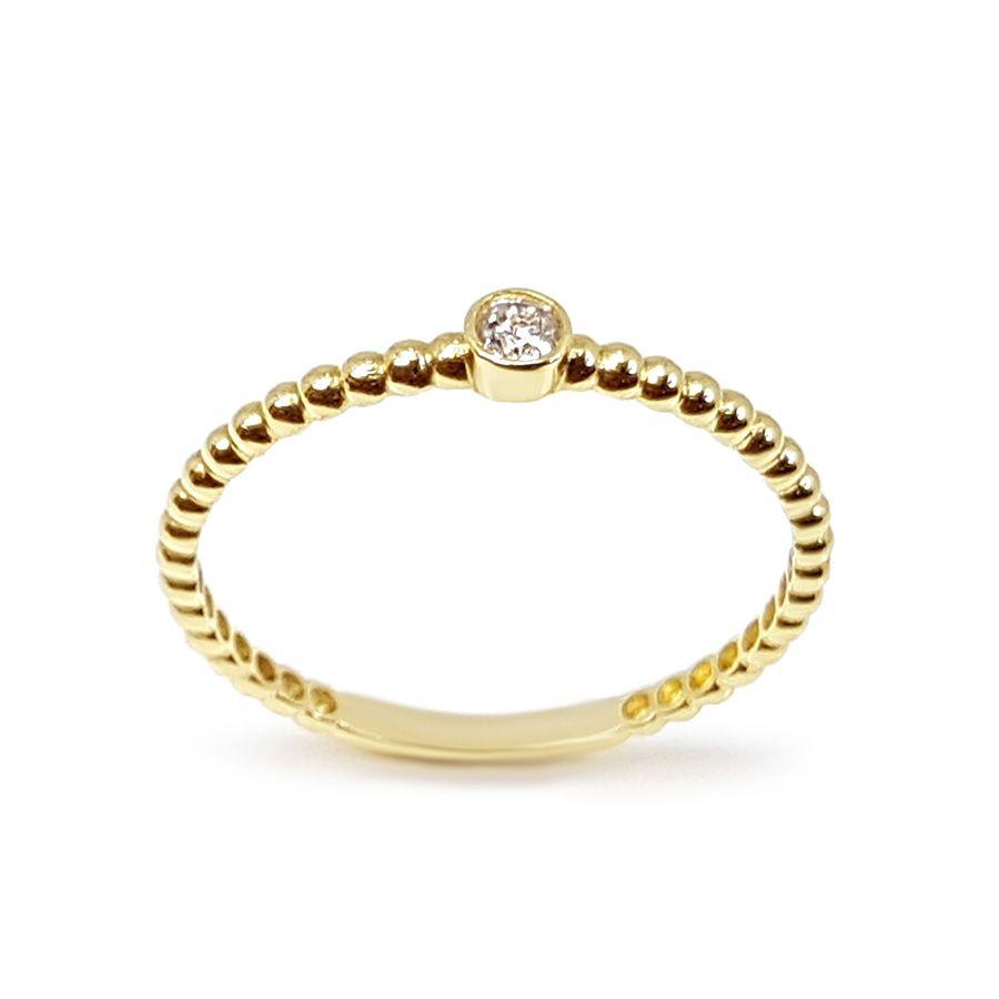 Anel Ouro 18k com Diamante de 5,8 pontos  - YVES