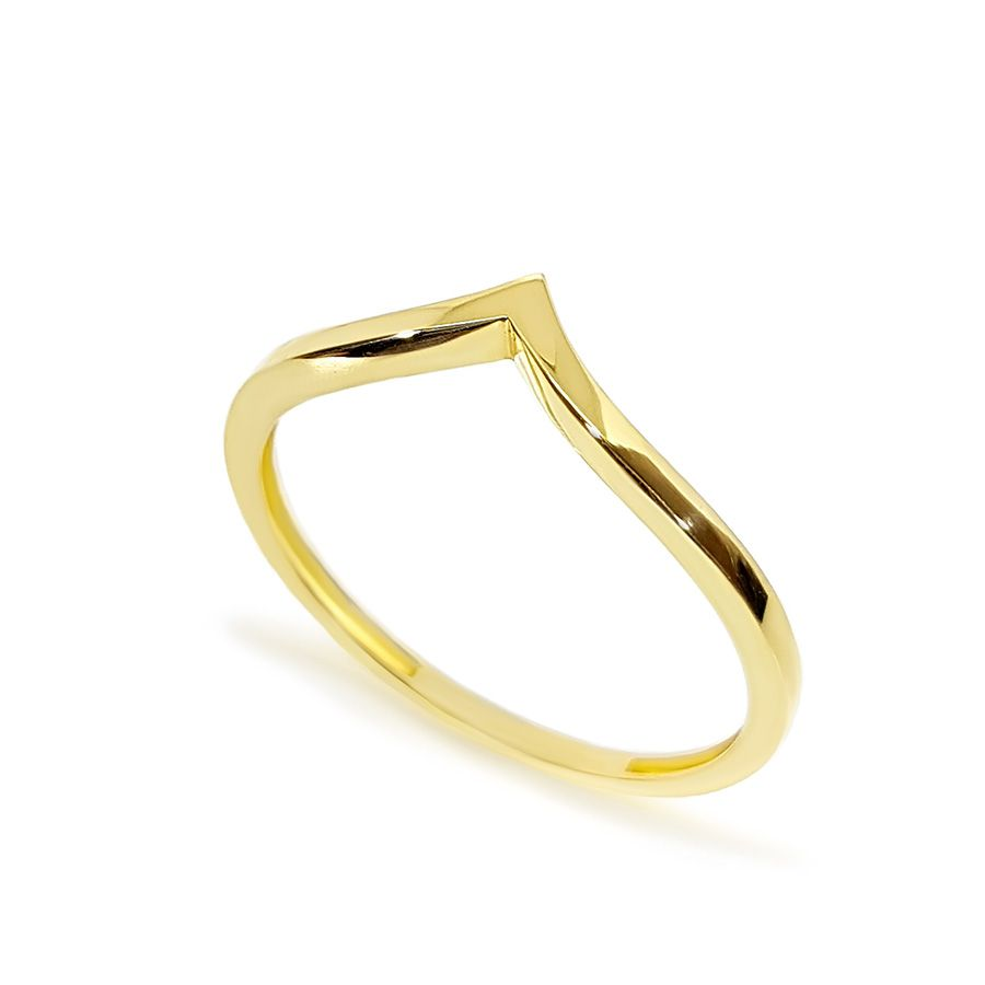 Anel Ouro 18k V