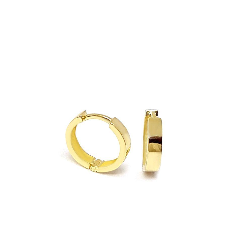 Brinco Argola Ouro 18k  - YVES