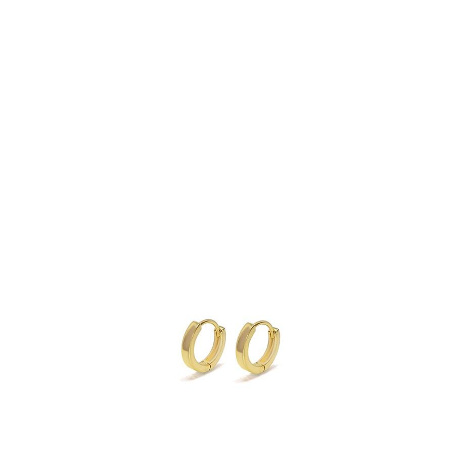 Brinco Argola Ouro 18k Mini
