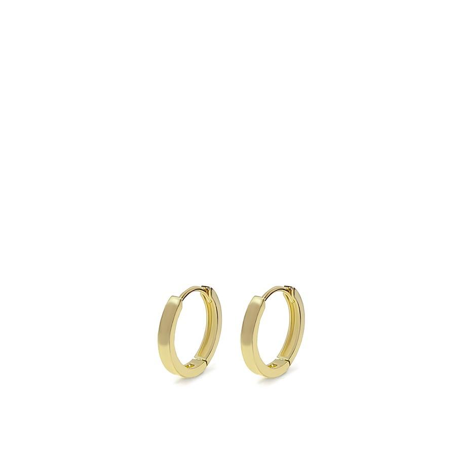 Brinco Argola Ouro 18k Pequeno