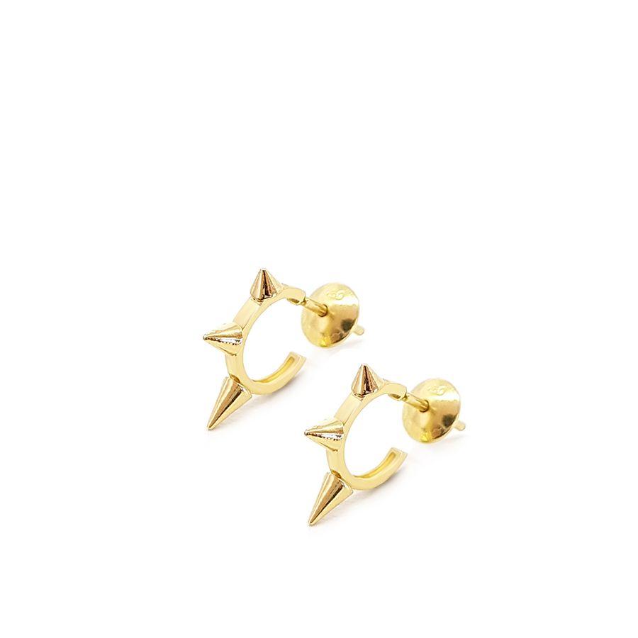 Brinco Argola Ouro 18k Spike  - YVES