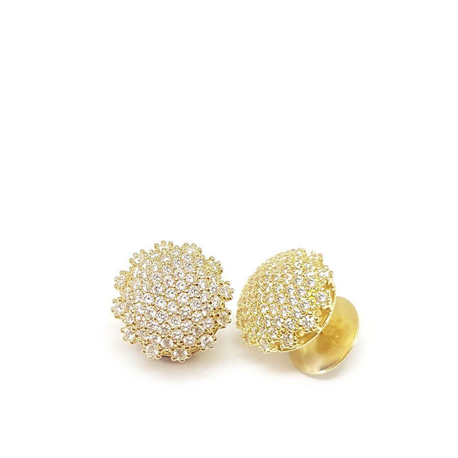Brinco Chuveiro Ouro 18k com 1 quilate em Diamantes    - YVES