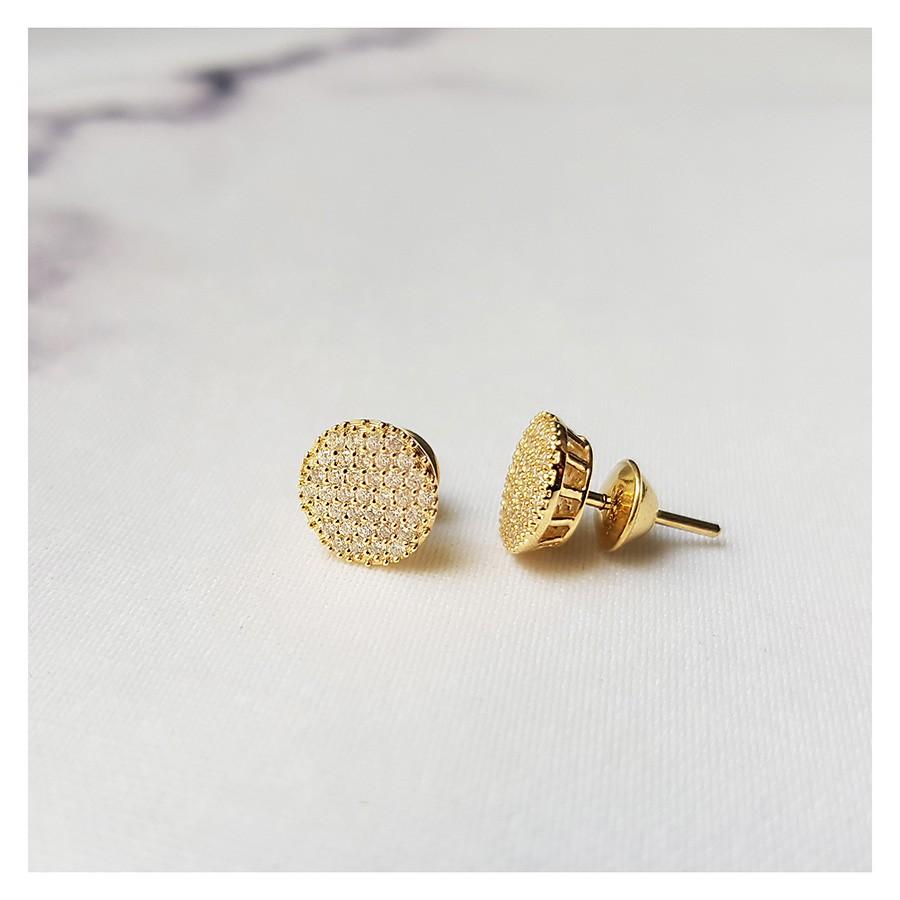 Brinco Chuveiro Ouro 18k com 74 Diamantes   - YVES