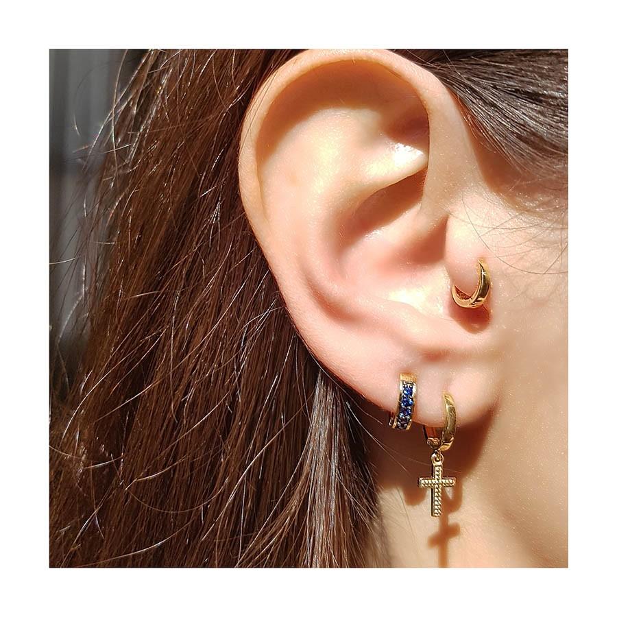Piercing Argola Ouro 18k Mini  - YVES