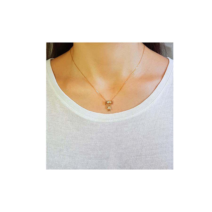 Pingente Menina Ouro 18k com 22 Diamantes  - YVES