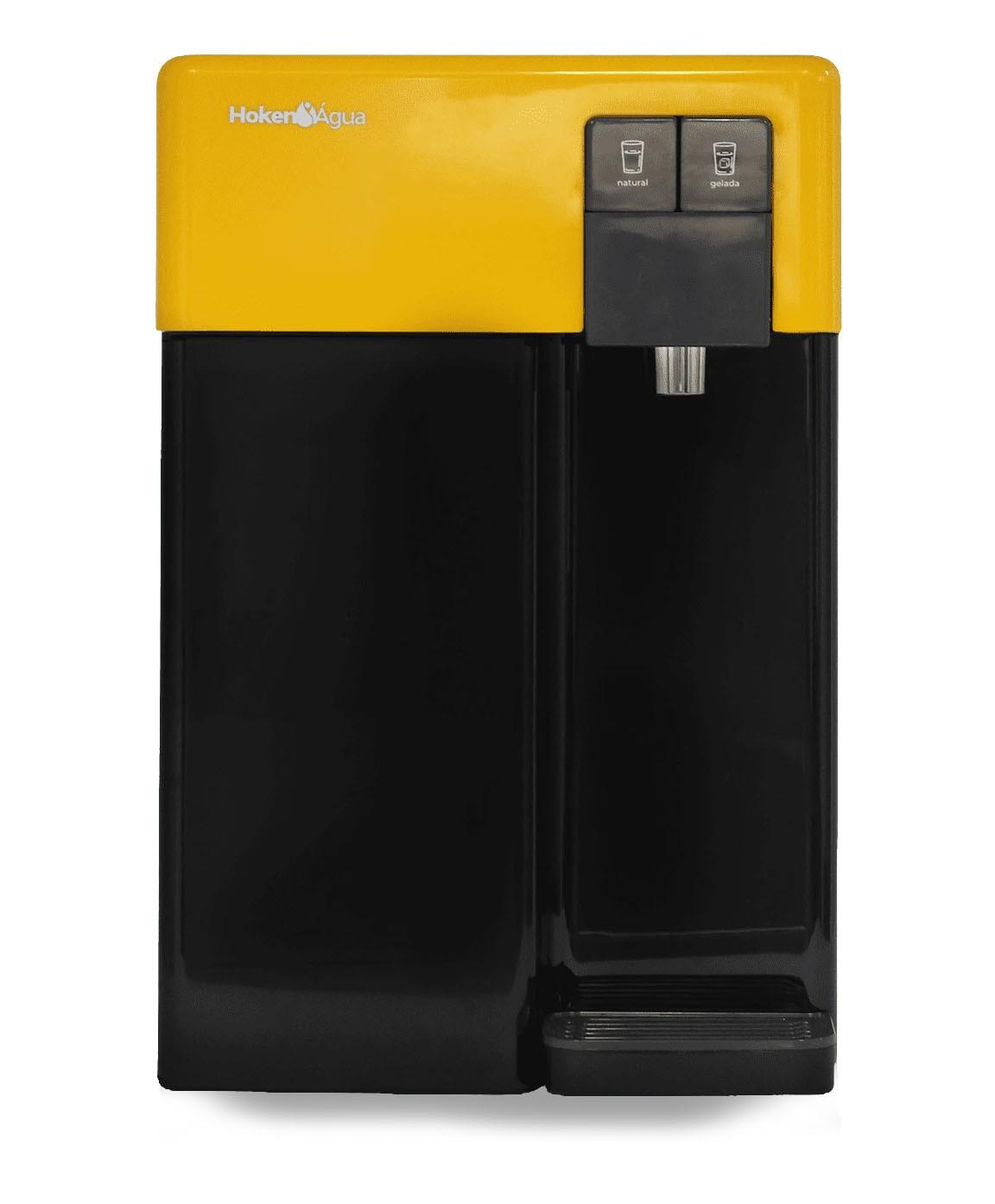 Purificador de Água CPD 19 Preto e Amarelo