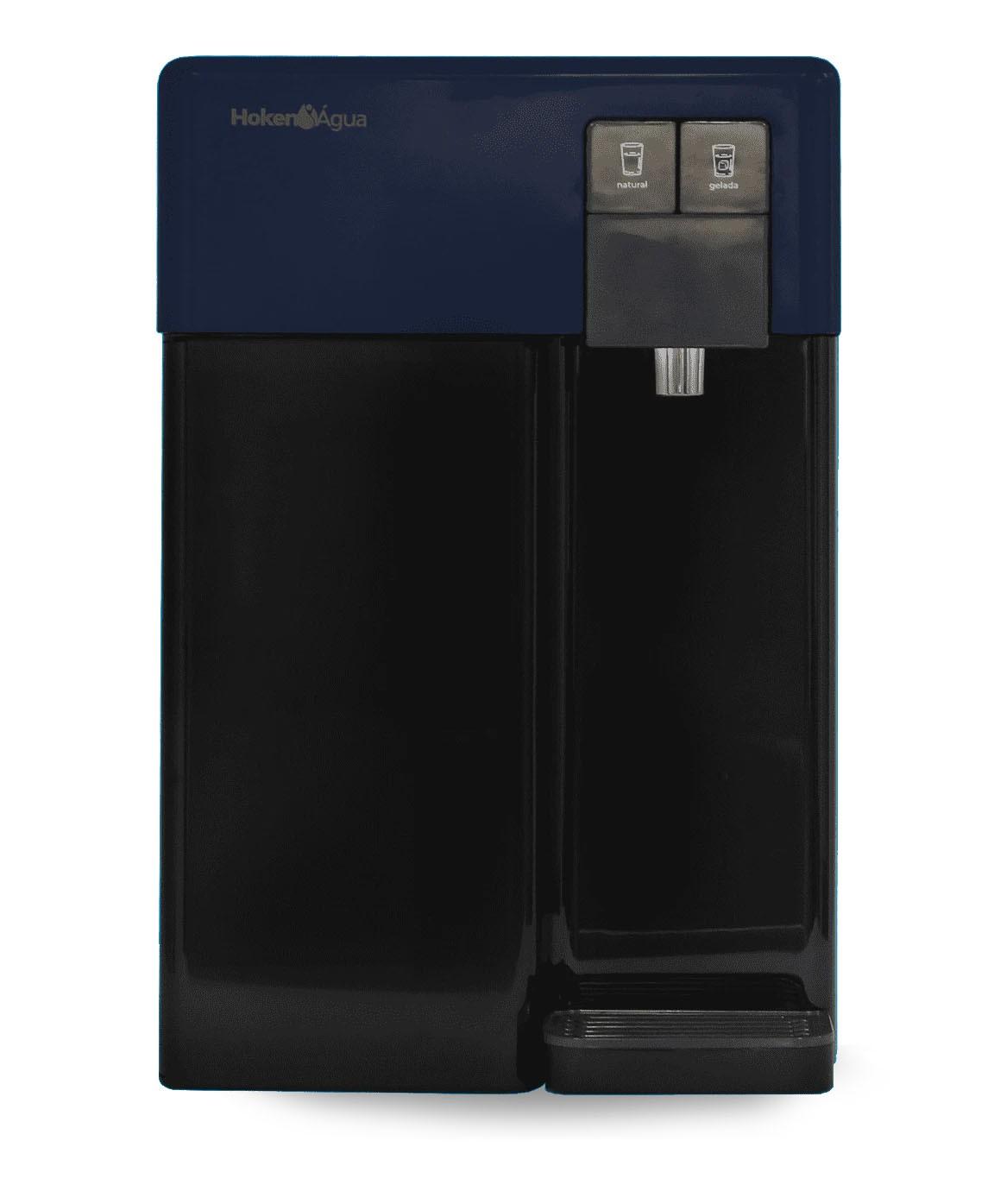 Purificador de Água CPD 19 Preto e Azul Marinho