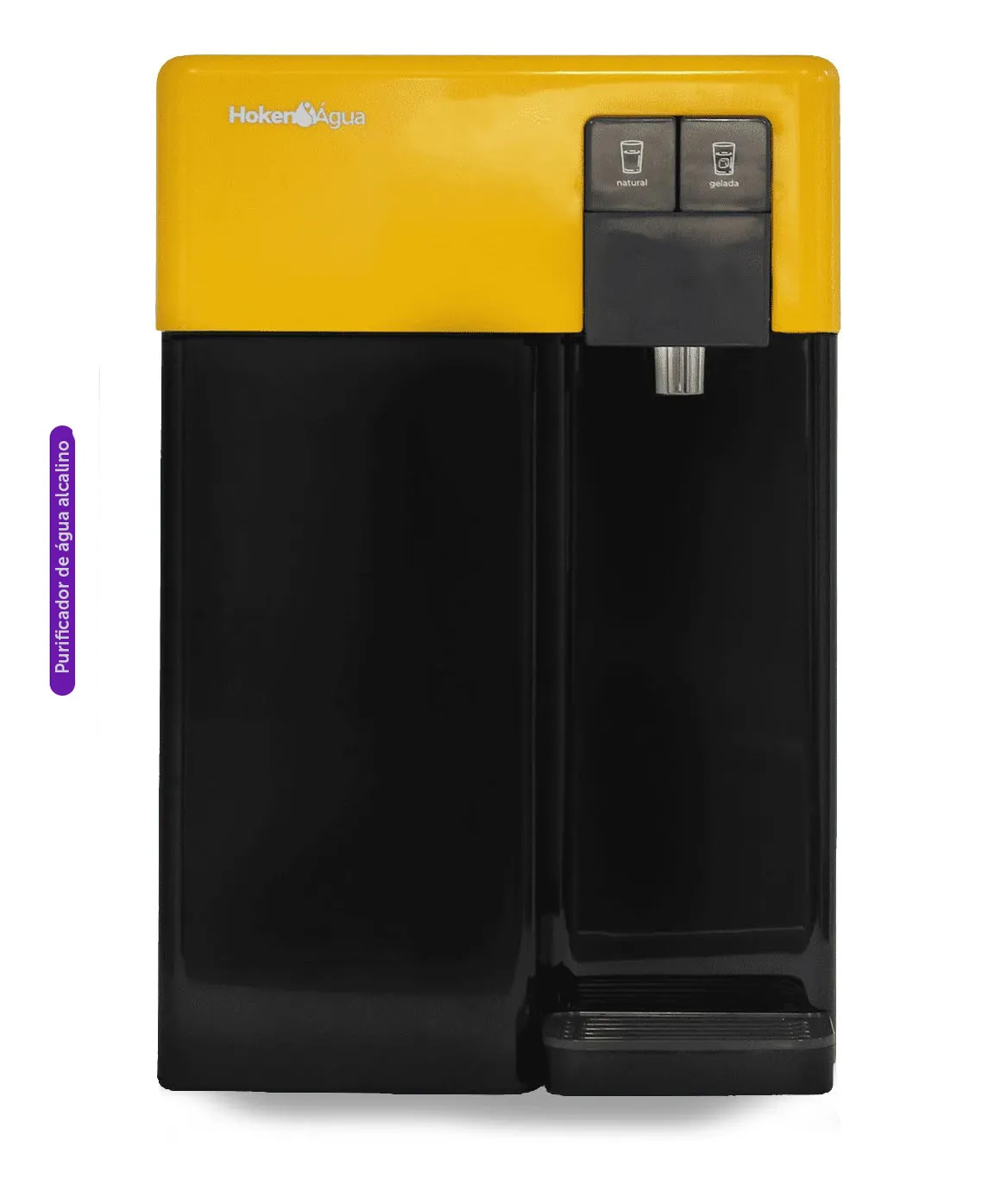 Purificador de Água CPD Alcalino Black/Amarelo