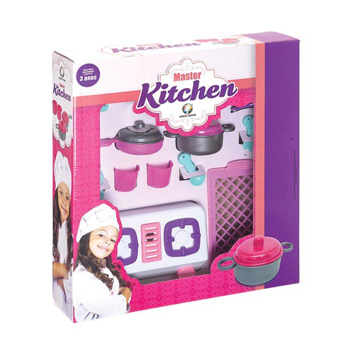 Cozinha Infantil fogão C/ Panelinhas Master   Melhor Preço!!