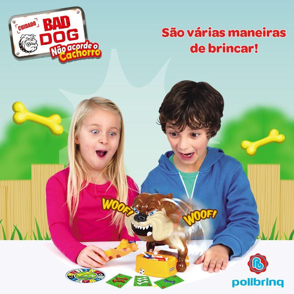 JOGO BAD DOG  SUSTO DIVERTIDO (NÃO ACORDE O DOG)-C SOM