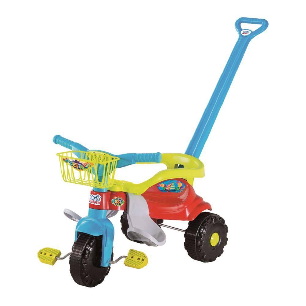 Triciclo Infantil Bebê 1 Ano Menino ou (a) Motoca -magic