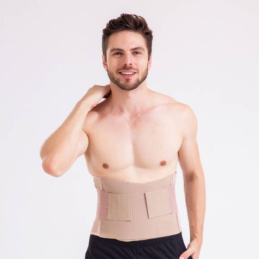 017 Cinta UNISSEX abdominal com fecho Velcro® em tecido Flex Form 3D