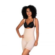 4004 Corselet Bermuda tecido Invisible Flex Form 3D de alta compressão