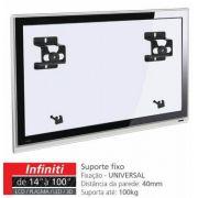 INFINIT Suporte Fixo para TV LCD/Plasma/LED de 14