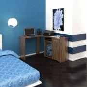 Kit Union Mesa Secretaria + Mesa para Micro C/Gaveta  (Pintura c/verniz protetor)